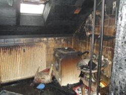 Hausratversicherung verbranntes Badezimmer