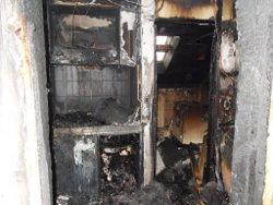 Hausratversicherung ausgebrannte Küche