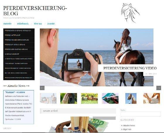 Pferdeversicherung Blog