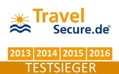 Reiserücktrittsversicherung Testsieger