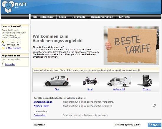 Motorradversicherung Vergleich Nafi