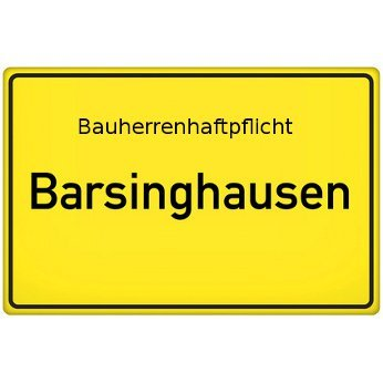 Bauherrenhaftpflicht Barsinghausen