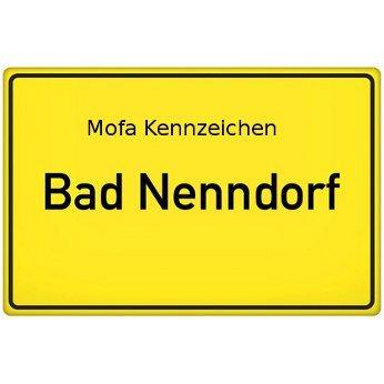 Mofa Kennzeichen Bad Nenndorf