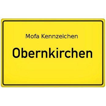 Mofa Kennzeichen Obernkirchen