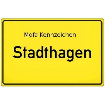 Mofa Kennzeichen Stadthagen