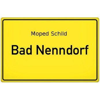 Moped Schild Bad Nenndorf