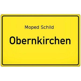 Moped Schild Obernkirchen
