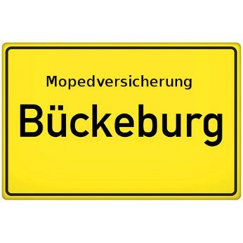 Mopedversicherung Bückeburg