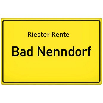 Riester-Rente Bad Nenndorf