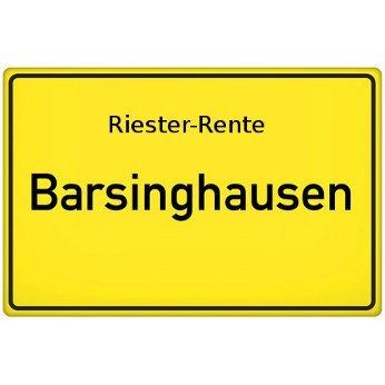 Riester-Rente Barsinghausen