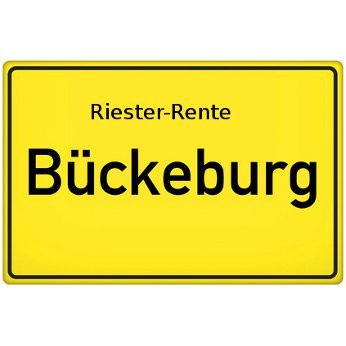Riester-Rente Bückeburg