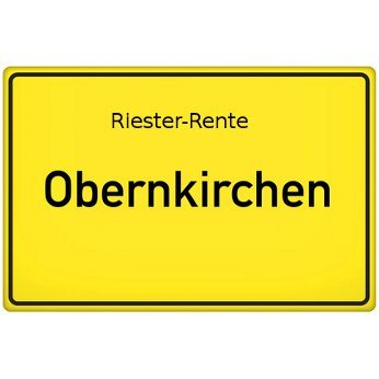 Riester-Rente Obernkirchen