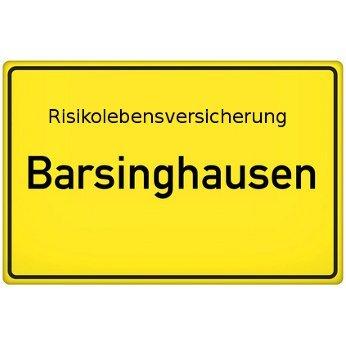 Risikolebensversicherung Barsinghausen