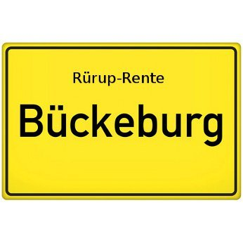 Rürup-Rente Bückeburg