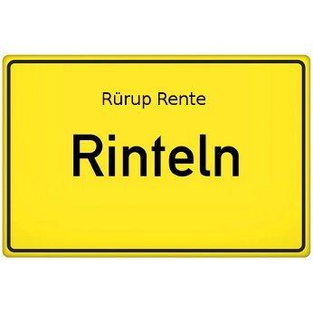 Rürup Rente Rinteln