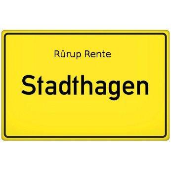 Rürup Rente Stadthagen