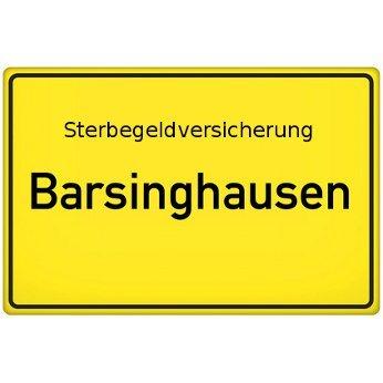 Sterbegeldversicherung Barsinghausen