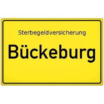 Sterbegeldversicherung Bückeburg