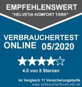 Helvetia Vollschutz Test