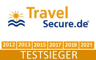 Reiseversicherung Testsieger