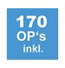 170 OP's inkl.