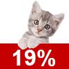 Katzenschutzfaktor 19%
