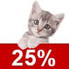 Katzenschutzfaktor 40%