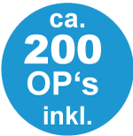 200 OP´s inkl.